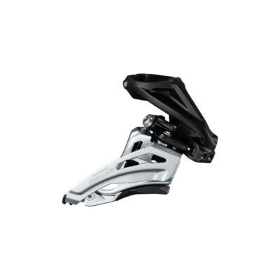 Shimano Deore FD-M617-H 2x10 sebességes felsőbilincses oldalhúzós első váltó