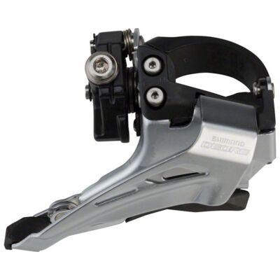 Shimano Deore FD-M618-L 2x10 sebességes alsóbilincses alulhúzós első váltó
