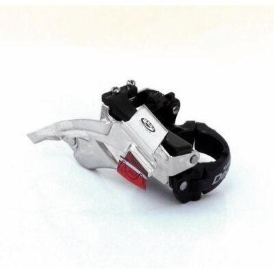Shimano Deore FD-M530 első váltó, Topswing, 34.9mm, alul-felülhúzós, fekete