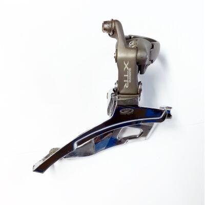 Shimano XTR FD-M953 3x9 sebességes első váltó, használt