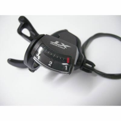 Shimano Deore XT T-8000 3-as Rapidfire Plus váltókar, bal