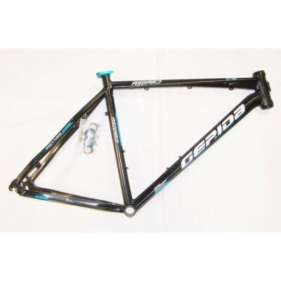 """gepida asgard 21 26"""" ezüst aluminium merev mtb kerékpár váz"""