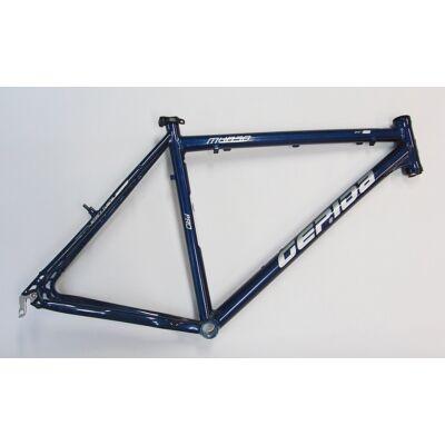 """gepida mundo 21 26"""" sötétkék aluminium merev mtb kerékpár váz"""
