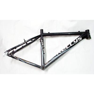 kelly's oxygen 17.5 26 szürke aluminium merev mtb kerékpár váz