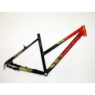 magellan cygnus 18 28 fekete-piros női aluminium trekking túra kerékpár váz