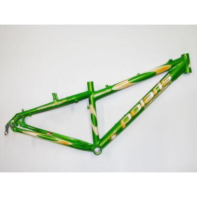 magellan polaris s 26 zöld aluminium merev mtb kerékpár váz