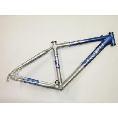 trek 4400 16 26 kék ezüst aluminium merev mtb kerékpár váz