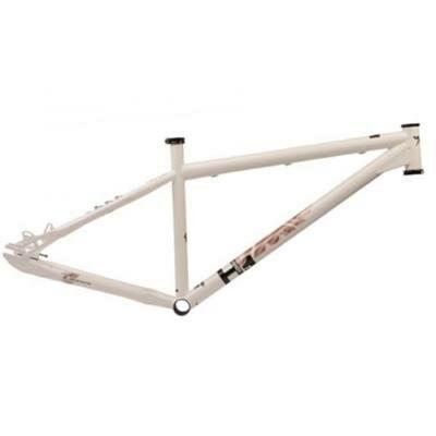 umf hardy 1 steel 13.5 34cm 24 26 fehér acél merev mtb kerékpár váz