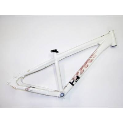 umf hardy 1 14.5 37cm 26 fehér aluminium merev mtb kerékpár váz