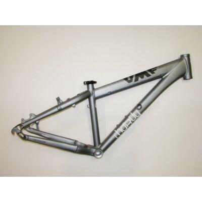 umf hardy 3 14.5 37cm 26 szürke aluminium merev mtb kerékpár váz