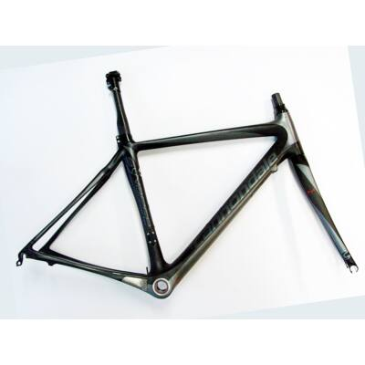 cannondale synapse 51cm vázméretű használt karbon országúti kerékpár váz szett