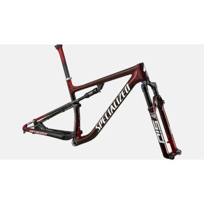 """Specialized Epic S-Works Carbon 29"""" összteleszkópos MTB kerékpár váz, L méret"""